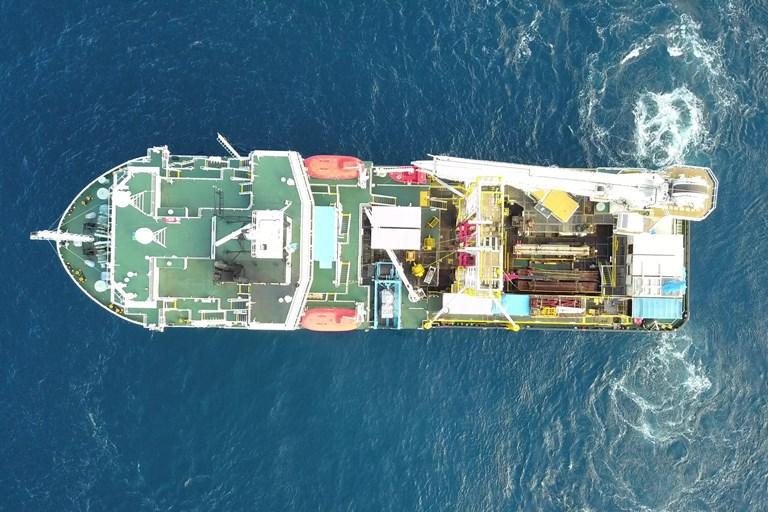 Geoquip Marine Vessel