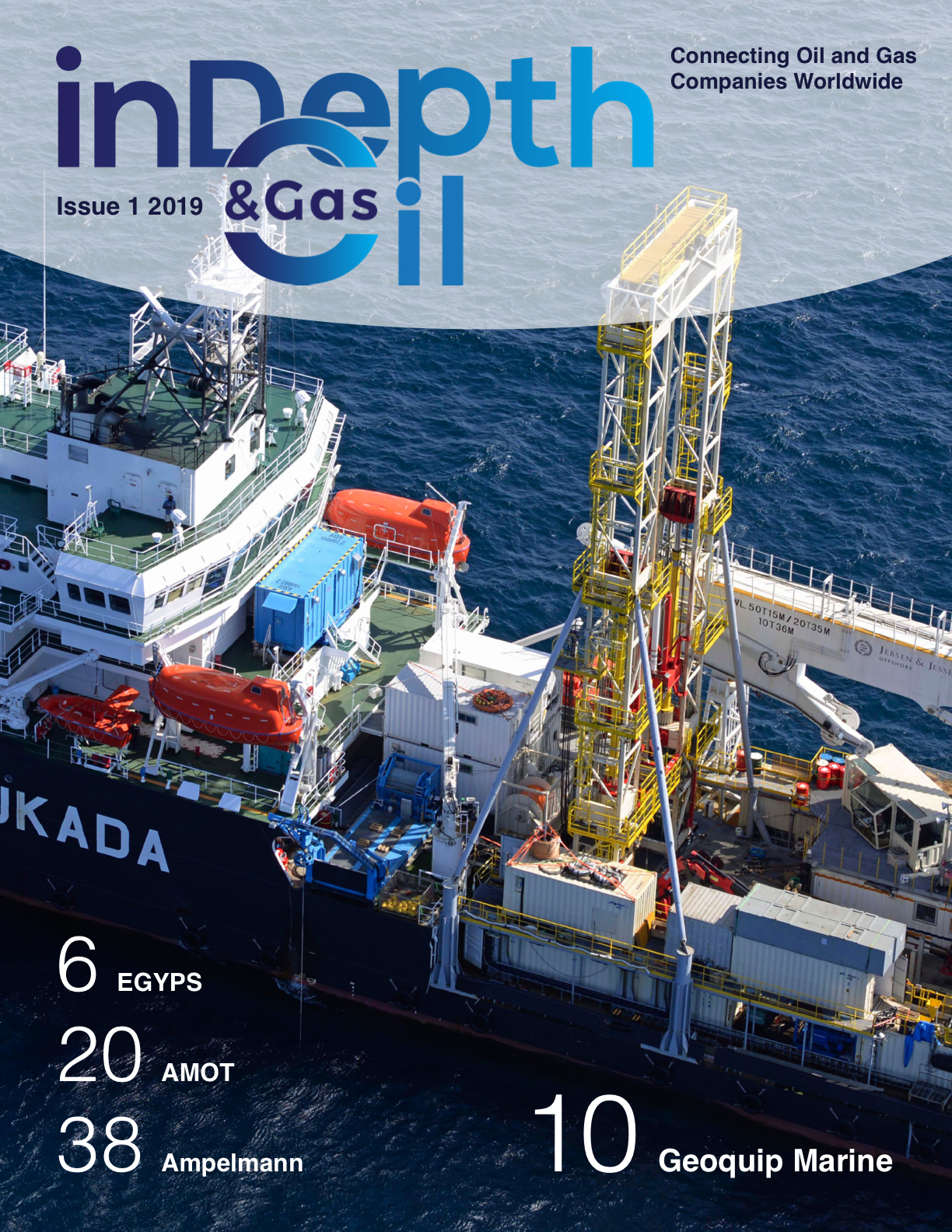 inDepth Oil & Gas magazine cover Issue 1 2019
