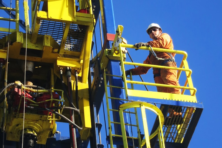 Put safety first - operator on drilling rig