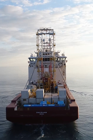 GMTR120 Offshore Drilling Rig on Vessel