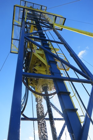 Geoquip Marine GMR600 Drilling Rig for Site Investigations