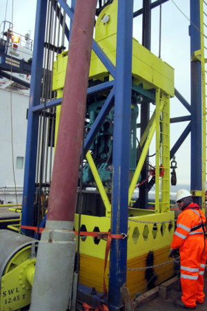 Geoquip Marine GMC200 Seabed Piezocone Penetration Test PCPT system