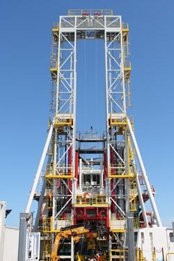Geoquip Marine GMTR150 drilling rig