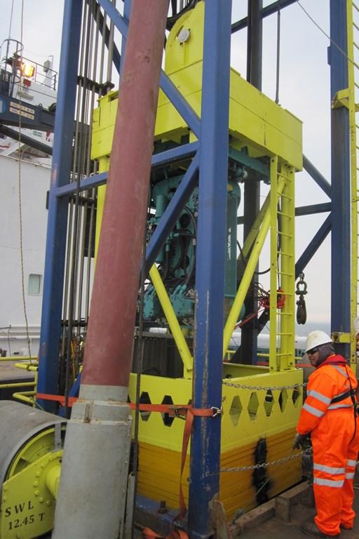 Geoquip Marine GMC200 Seabed PCPT Sytem