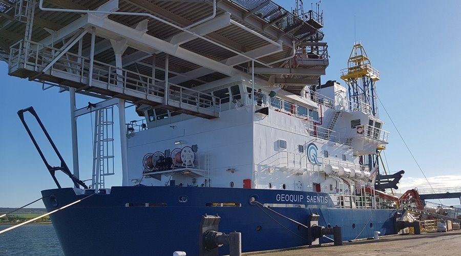 Geoquip Saentis docked