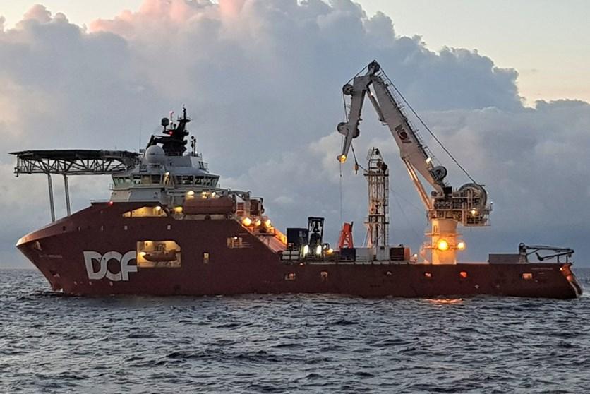 Skandi Hercules in Timor Sea Australia