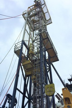 Geoquip Marine GMR302 drilling rig for marine site investigations