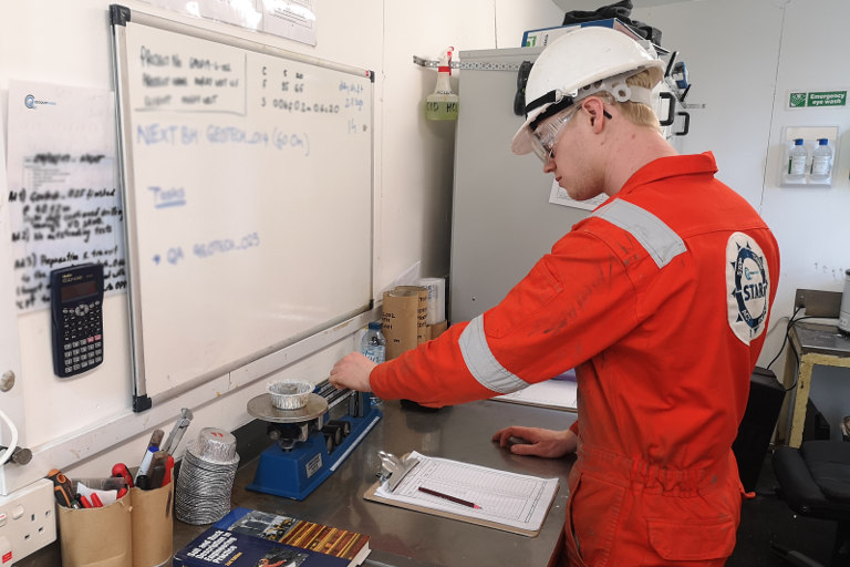 Geoquip Marine Offshore Lab Sample Analysis