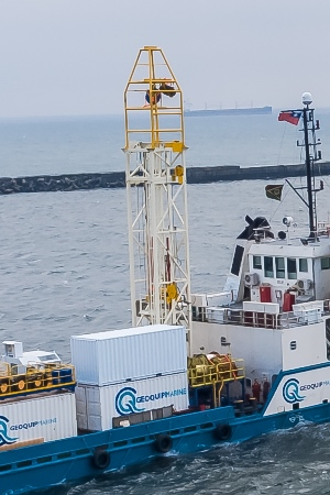 Geoquip Marine GMR300 Geotechnical Drilling Rig