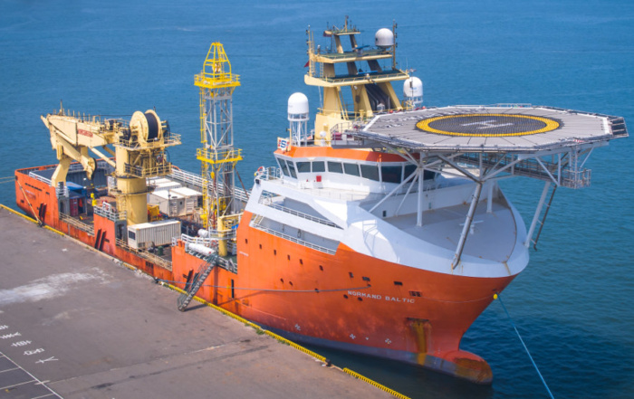 Normand Baltic in Taiwan for Offshore Wind Farm Project