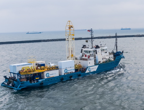 Geoquip Marine's MV Investigator in the News