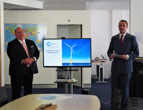 Geoquip Marine welcomes US Ambassador to head office in St. Gallen