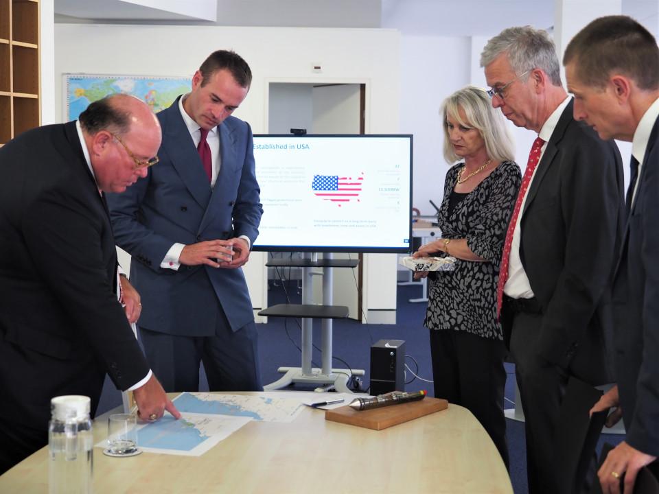 Geoquip Marine US Ambassador visit