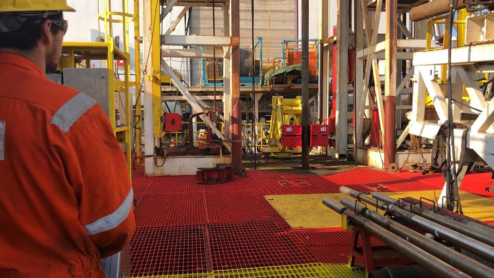 Geoquip Marine Iron Roughneck on the Dina Polaris
