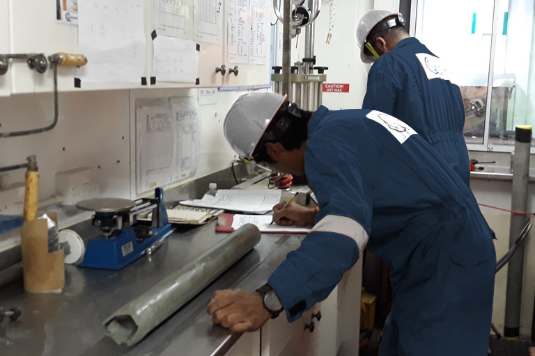 Geoquip Marine Offshore Laboratory Operations