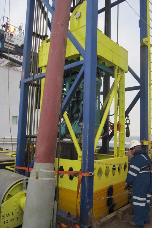 Geoquip Marine GMC200 Seabed PCPT System