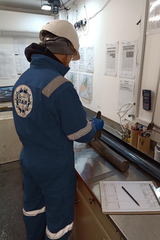 Geoquip Speer onboard laboratory