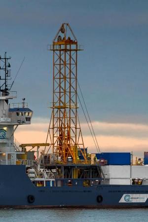 Geoquip Marine GMR602 drilling rig